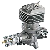 DLE Engines DLE-55RA 55cc Electronically Ignited Rear Exhaust Gasoline RC Aircraft Engine with Muffler for Gas Model Planes