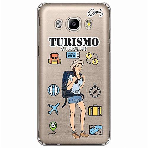 CASE CAPA CAPINHA Samsung Galaxy J7 2016 - TURISMO FEM