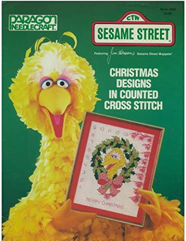 Christmas Designs in Counted Cross Stitch (CTW Sesame Street) (Sesame Street Cross Stitch)