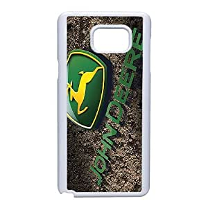 Samsung Galaxy Note 5 Cell Phone Case White John Deere DY7730478