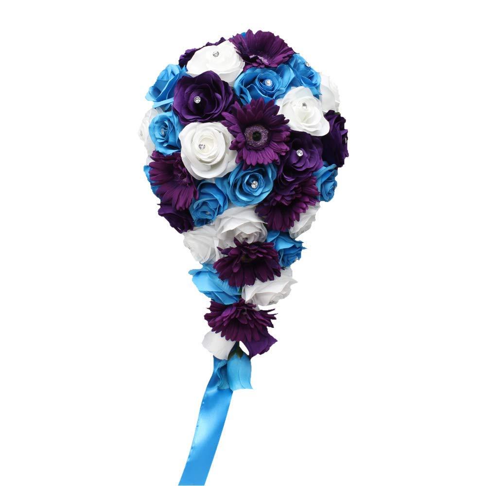 Wedding Package 10pcs Artificial keepsake Flowers bouquet corsage boutonnieres