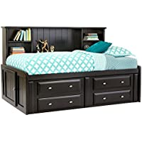 Catalina Black Twin Roomsaver Bed