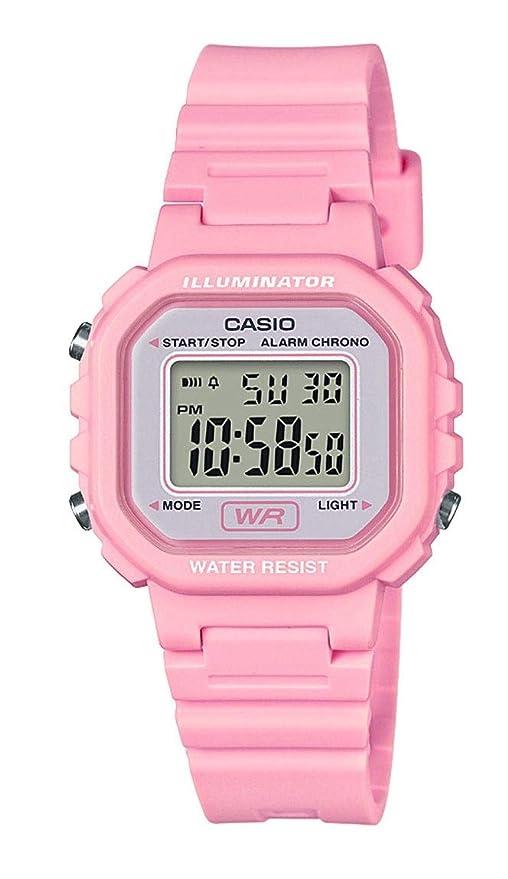 Amazon.com: Casio Collection LA-20WH-4A1EF - Reloj para ...
