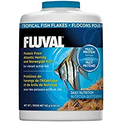 140gm Fluval Tropical Flakes Fish Food, 4.94-Ounce