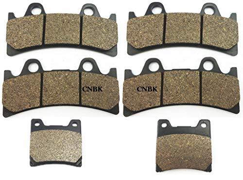 Front Yzf750 - CNBP Brake Pad Set fit Yamaha FZR 1000 EX UP FZR1000 94-95 YZF 750 R SP YZF750 1993-1997 1994 1995 1996 Front Rear Onroad