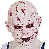 Halloweenmaske / Maske / Babymaske Babyface vernarbt