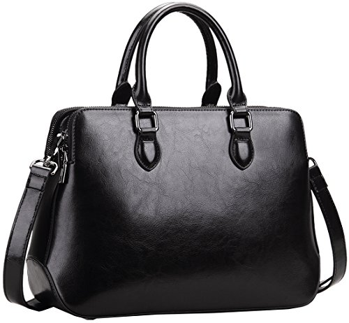 Leather Satchel Handbags - 6