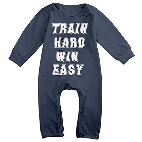 JOYJUN Train Hard Win Easy Cute Girl Long Sleeve Design For (Toddler Wins Halloween)