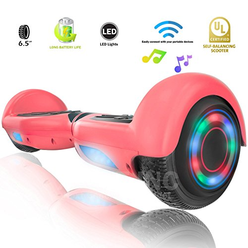 XPRIT Hoverboard w/Bluetooth Speaker (Pink)