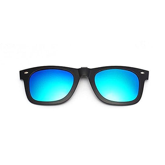 Clips polarizados y espejados que se levantan para gafas de ...