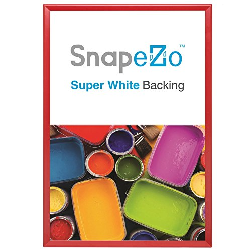 SnapeZo Poster Frame 36x48 Inches, Red 1.7