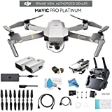 DJI Mavic Pro Platinum CP.PT.00000071.01 + DJI Intelligent Flight Battery for Mavic Pro Platinum and Much More