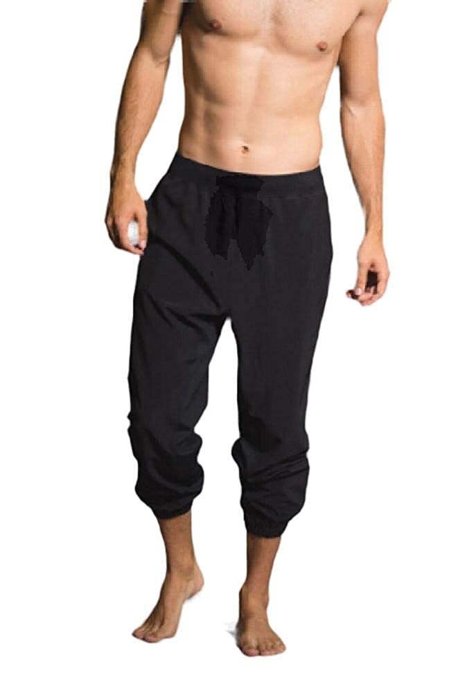 Coolred-Men Sports Outdoor Tailored Fit High Waist Jogger Sport Pants
