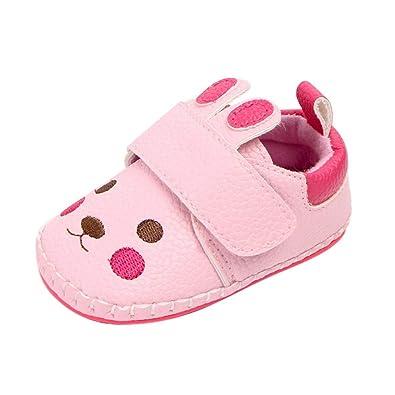 ec2f4c70c860c Miyanuby Chaussure Bebe Fille Garcon Anti-dérapant
