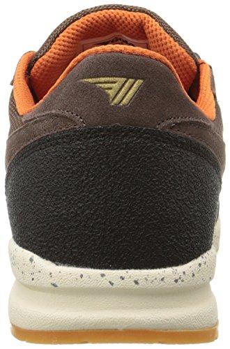 Gola Katana Ranger - Zapatillas de running Hombre Marrón - Brown (Brown/Black/Orange)