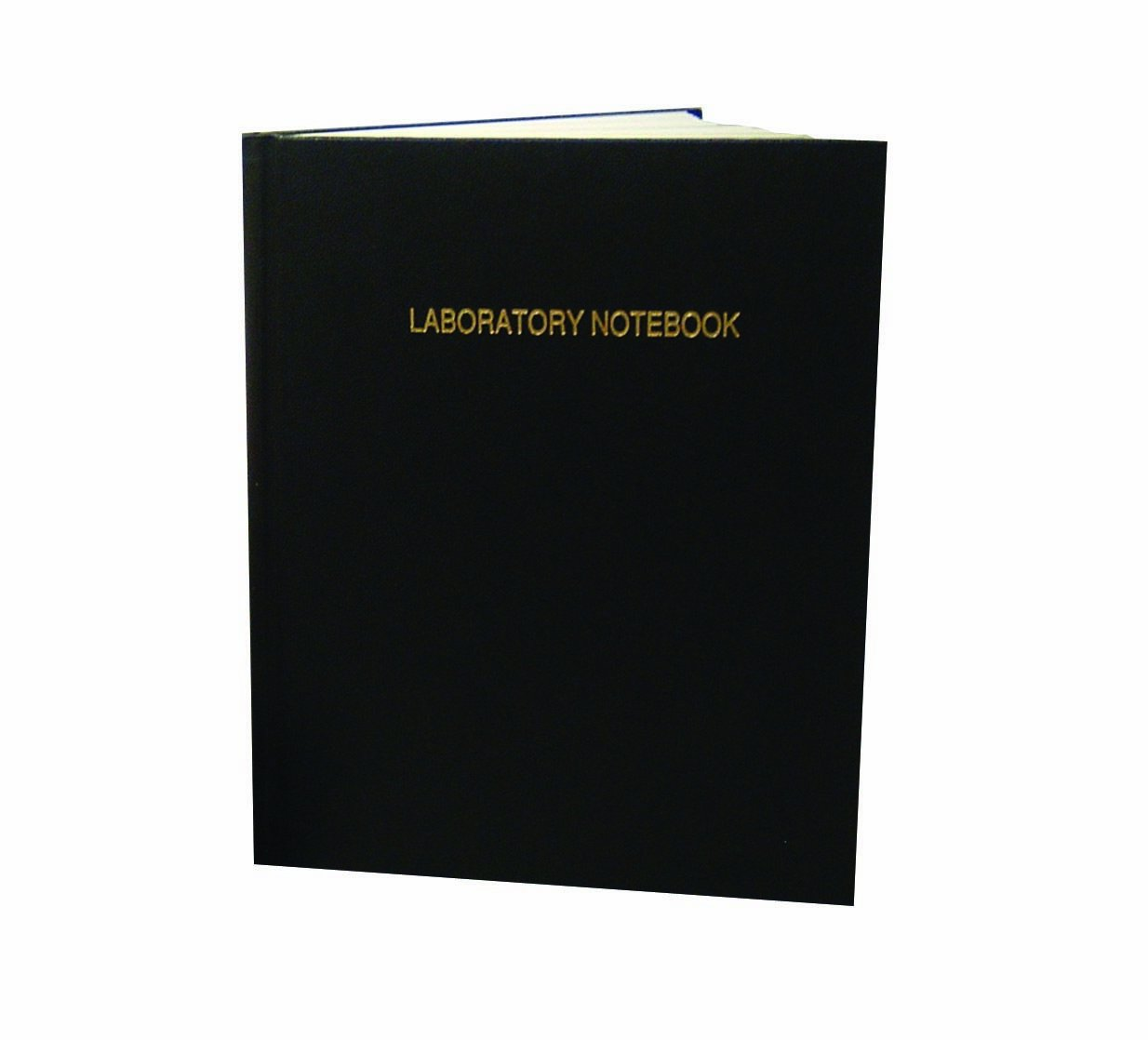 Thomas TSCILIRPE216LKG Grid Laboratory Notebook, Black Imitation Leather Cover, 216 Pages, 11'' Length x 8-7/8'' Width