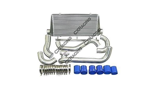 cxracing Intercooler Kit de actualización para Toyota Supra MKIII 1jz-gte MA70 Twin Turbo: Amazon.es: Coche y moto