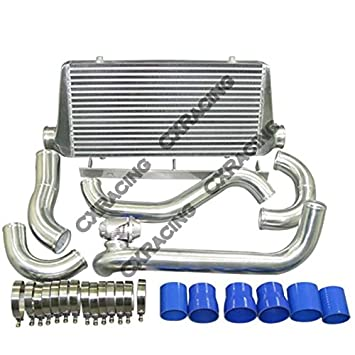 cxracing Intercooler Kit de actualización para Toyota Supra MKIII 1jz-gte MA70 Twin Turbo: Amazon.es: Coche y moto