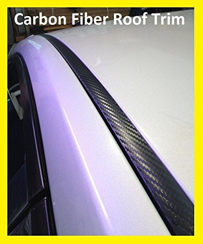 2008-2014 Mercedes-Benz C Class Carbon Fiber Roof Trim Molding Kit 2009 2010 2011 2012 2013