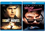 Double Tom Cruise All the Right Moves & Risky Business 80's Movie Bundle Double Feature Set