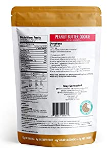 Good Dees Peanut Butter Cookie Mix - Low Carb Gluten Free And Grain Free by Good Dee's Cookie Mix