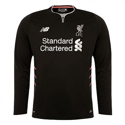 quality design 86110 64993 New Balance 2016-2017 Liverpool Away Long Sleeve Football ...