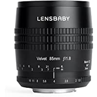 Lensbaby soft lens Velvet 85 85mm F1.8 Full size for Canon EF