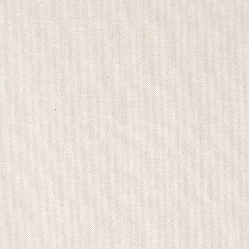 Hanes Drapery Lining Cotton Deluxe White Fabric by The Yard