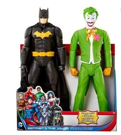 "Dc Comics Batman & the Joker 20"" Action Figure 2 Pack"