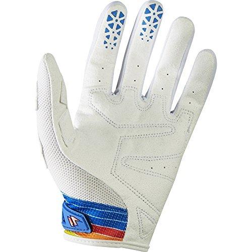 - Shift Racing Strike Stripes Men's Dirt Bike Motorcycle Gloves - Blue / 2X-Large