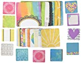 Bo Bunny-Misc. Me Pocket Squares Journaling Cards: Believe. A fun and unique addition to your paper crafting projects! This package sixty 2x2 inch journaling cards twenty 3x3 inch journaling cards and sixteen 4x4 inch journaling cards (all ca...
