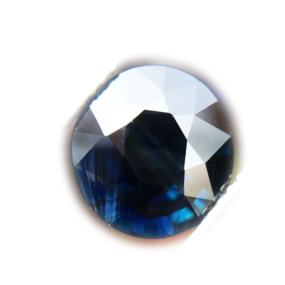 Certified GLC 2.45ct Natural Oval Unheated Blue Sapphire Thailand #B