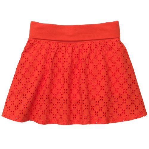 Carter's Copper Sunset Eyelet Skort (2T-6X) (6 Kids, - Set Skort Carters