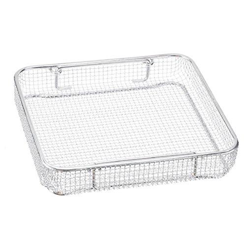 Miltex 740401 One-Half Size Wire Basket, 11.25'' Length x 11'' Width x 3'' Height