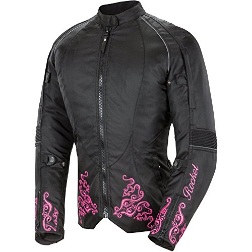 Ladies Leather Bike Jacket - 8
