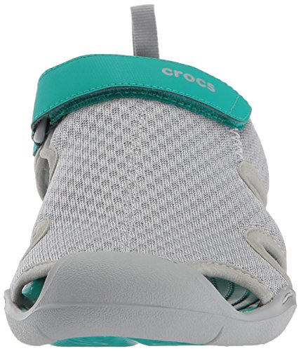 Crocs Dames Swiftwater Sandaal Licht Grijs