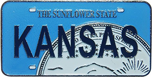 Kansas License Plate - Kansas License Plate Replica Metal Magnet