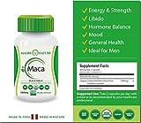 Certified Organic Gelatinized Black Maca Root Powder Supplement - 500mg X 100 Capules (Vegan) - Peruvian Andes - Gluten-free
