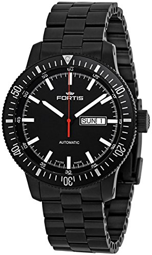 Fortis B-42 Monolith 647.18.31.M Automatic Mens Watch PVD-plated