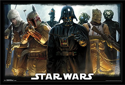 Trends International Wall Poster Star Wars Bounty Hunters, 22.375 x 34