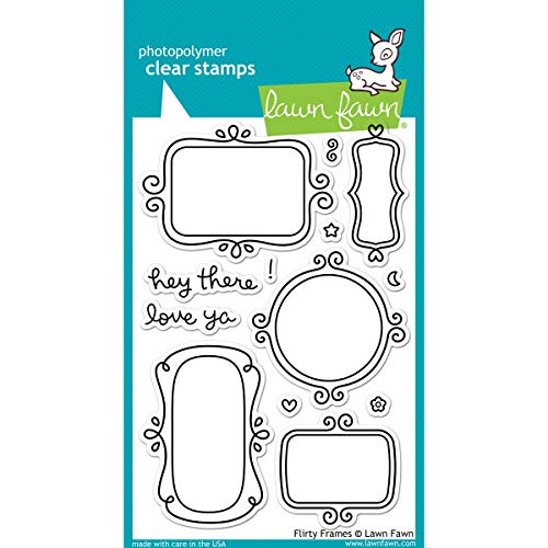 Lawn Fawn Clear Stamps LF801 Flirty Frames