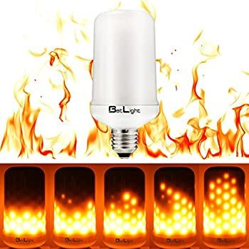 creative oil lamps led flame effect fire light bulbs creative lights with flickering