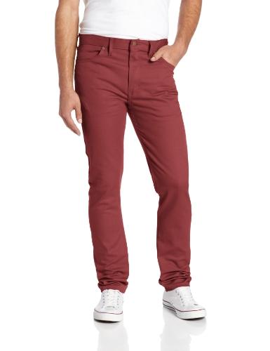 UPC 607645999463, Dickies Men's Slim Skinny Fit 5-Pocket Stretch Twill Jean, Oxblood, 32x32