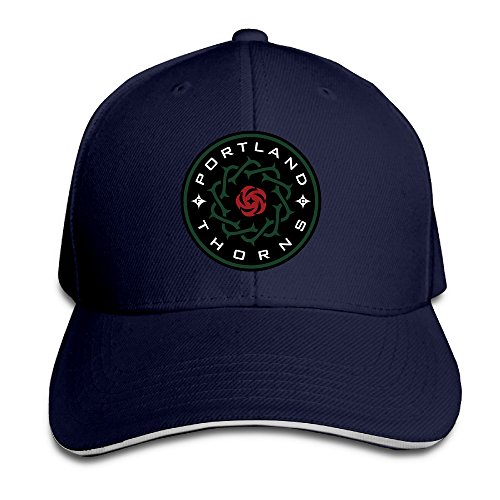 P-Jack Unisex Portland Thorns FC Adjustable Snapback Hip Hop Hat Navy
