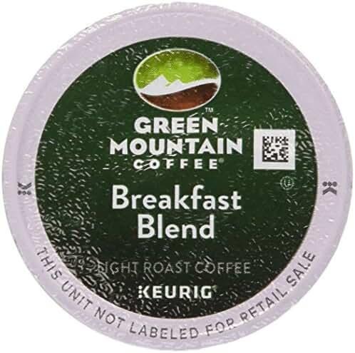 Keurig, Green Mountain Coffee, Breakfast Blend, K-Cup Counts, 50 Count