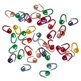 Sewing Leathercraft Tools & Supplies,dezirZJjx Knitting Cilps,20 Pcs Colorful Mix Mini Plastic Knitting Clips Crochet Locking Stitch Marker DIY