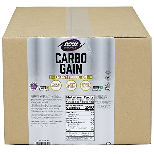 NOW Sports Carbo Gain, 12-pound by Now Sports (Image #2)