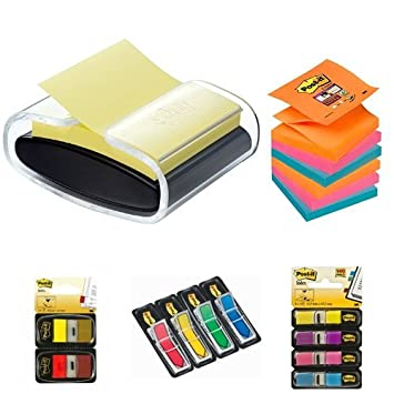 Post-It - Dispensador de notas PRO-B-1SSCY-R330 + Pack