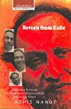 img - for Return from Exile: Alternative Sciences, Illegitimacy of Nationalism, The Savage Freud (Oxford India Paperbacks) book / textbook / text book