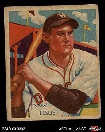 Amazoncom 1935 Diamond Stars 68 Sam Leslie Baseball Card